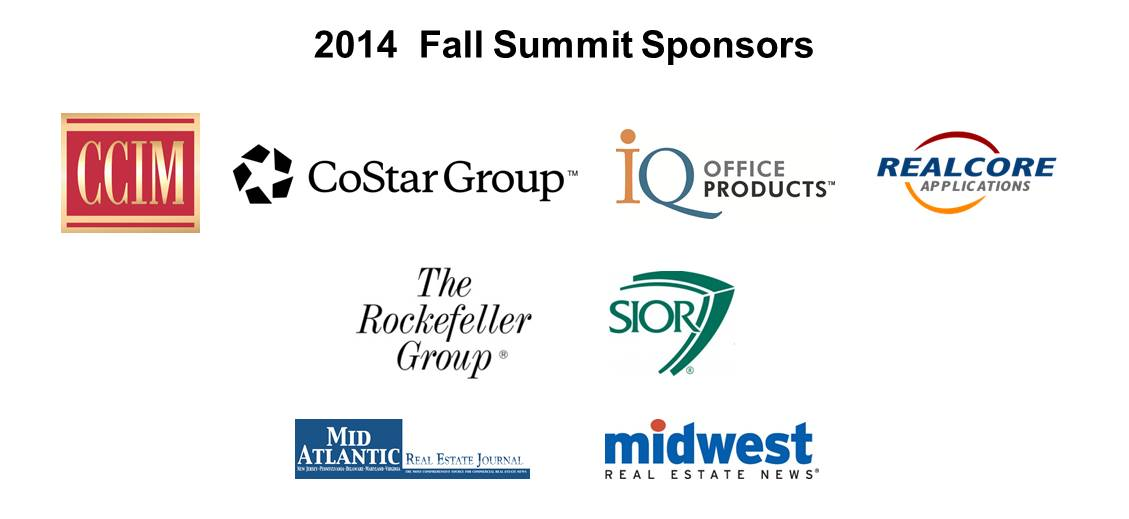2014 Fall Summit Sponsor banner 8.1.2014