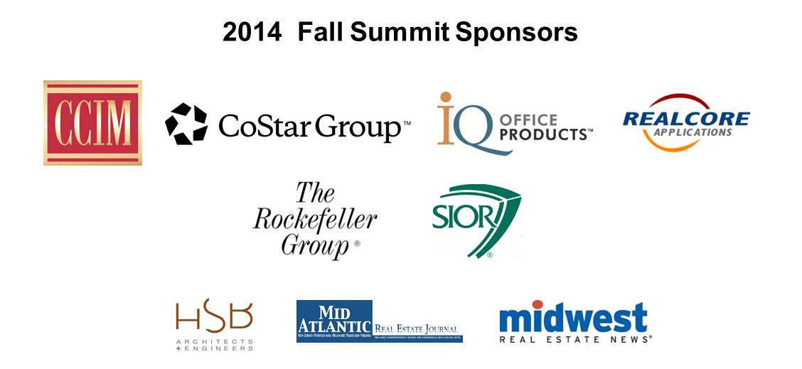 2014 Fall Summit Sponsor banner 8.19.2014
