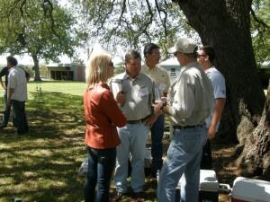 L-R Sharon Friedberg, Clay Peeples (Boyd/Houston), Greg Shaw (Boyd/Houston), Phil Crane (Providence/San Antonio), Kent McCoy (Centric/Austin)